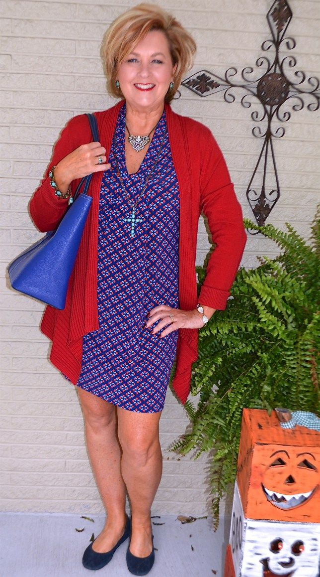 50 IS NOT OLD \ FLATTERING FIT AND VERSATILE DRESS