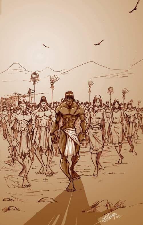 Antes de que los mexicas se convirtieran en una gran Nación, fueron un pueblo nómada que atravesó obstáculos nada fáciles de sortear.