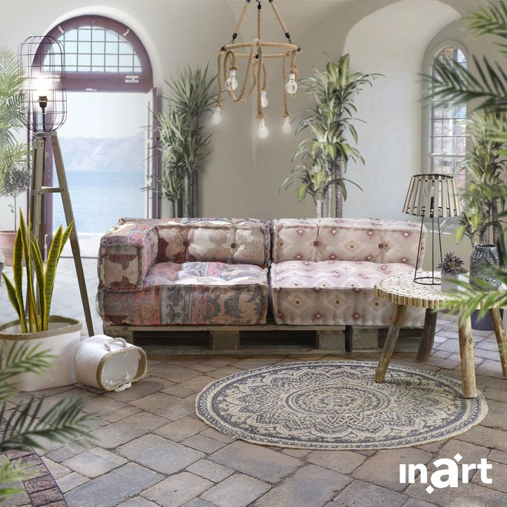 Discover your home's bubbly personality! Pink, an exciting mix of styles and comfortable furniture shape a truly happy home. Yours. #inartLivingb