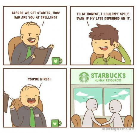 How Starbucks employees get hired