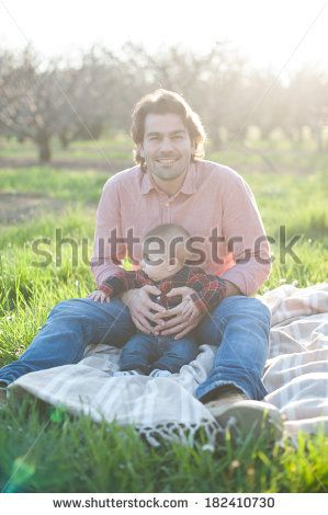 Sweet daddy and little son, Shutterstock by Annalisa Bombarda