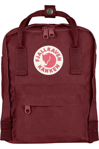 Fjällräven Kånken Mini Backpack Ox Red