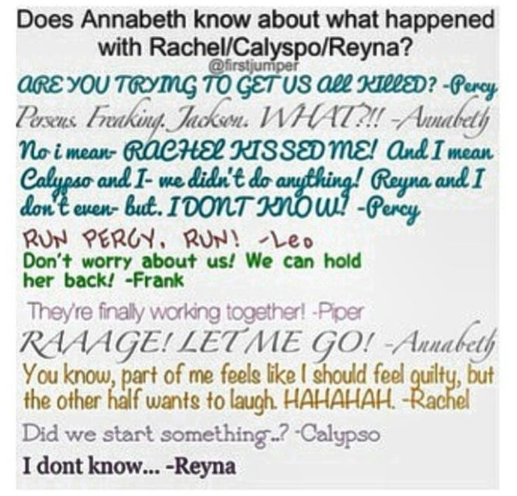 percy and annabeth dating fanfic