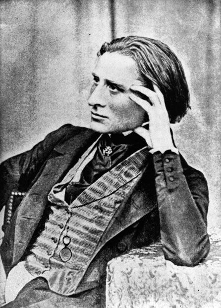 Hungarian composer Franz Liszt (1811 - 1886) at the age of 30, reproduced from a daguerreotype  Picture: Hulton Archive/Getty Images
