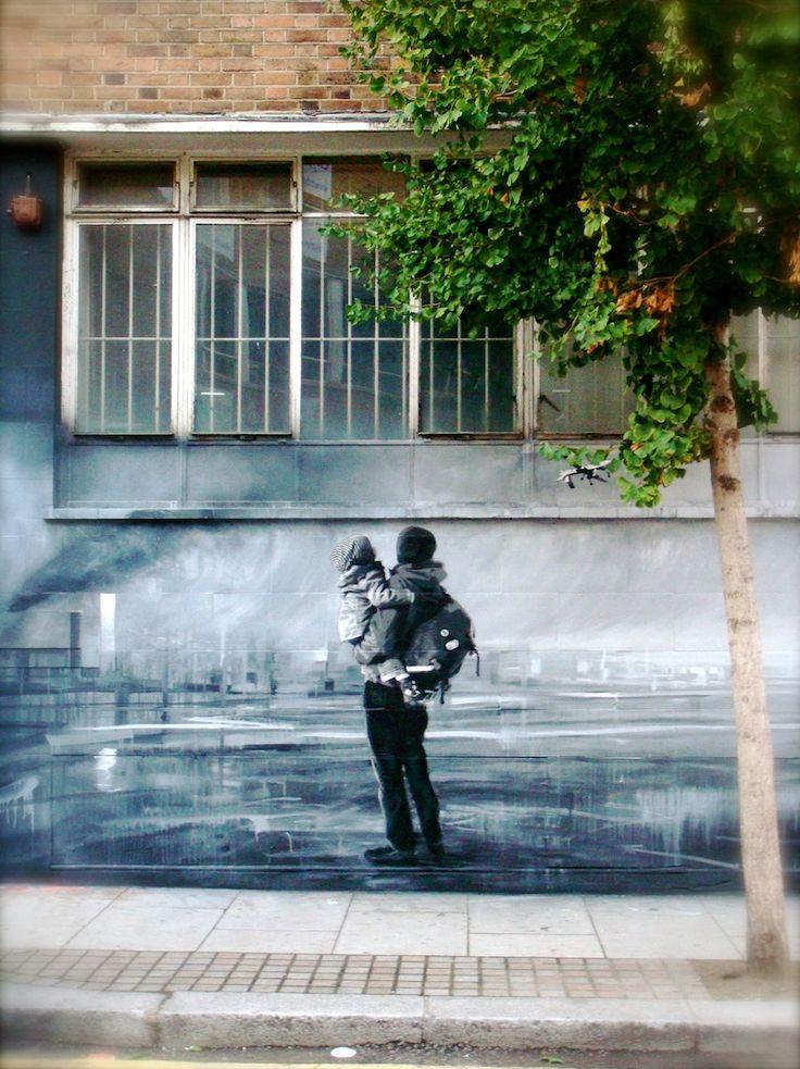 : Web Design, Street Art Utopia, Streetartutopia, Graffiti, Big Brother, Murals, Blog Design, Father Daughters, Art Wall