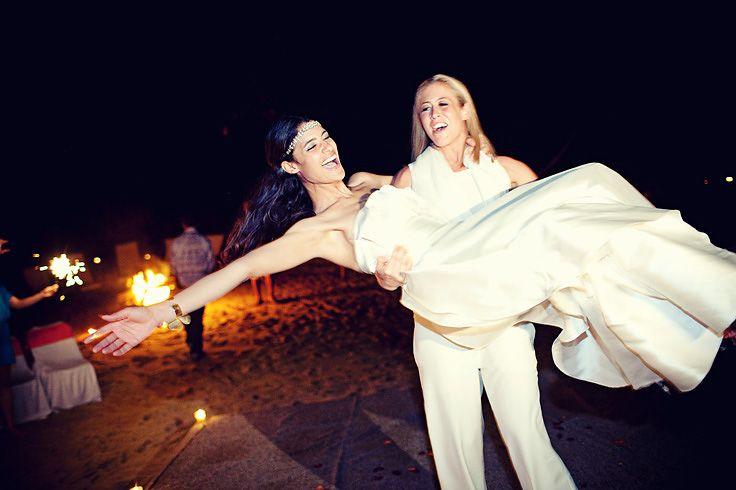 Jessica Clark Models   Jessica Clark's and Lacey Stone's wedding