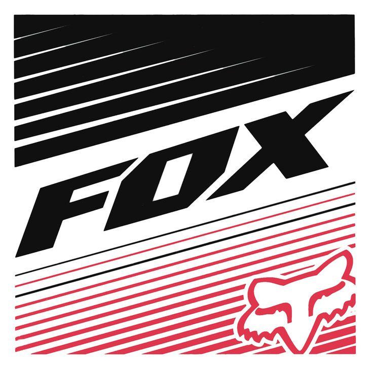 Fox Racing Logo, Fox Logo, Fox Motocross