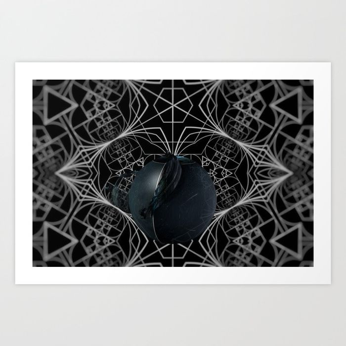 THE #APPLE OF #DISCORD - Reflective #abstract #space and #mind #jesuisciprian | #Society6