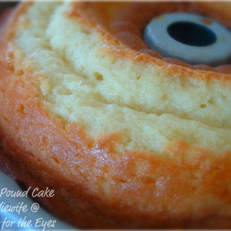 Perfect Pound Cake (7-Up Cake) adapted from The Pioneer Woman Recipe | Key Ingredient