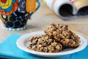 banana chocolate chia breakfast cookies | simple balance