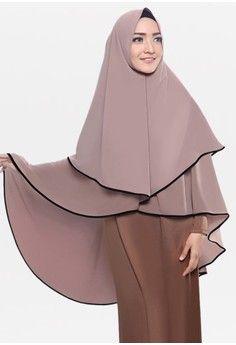 Wanita > Baju Muslim > Hijab > Jilbab Instan > Zelena Khimar Lilianne - Milochoco > zelena