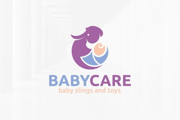 Baby Care Logo Template by LiveAtTheBBQ on Creative Market
