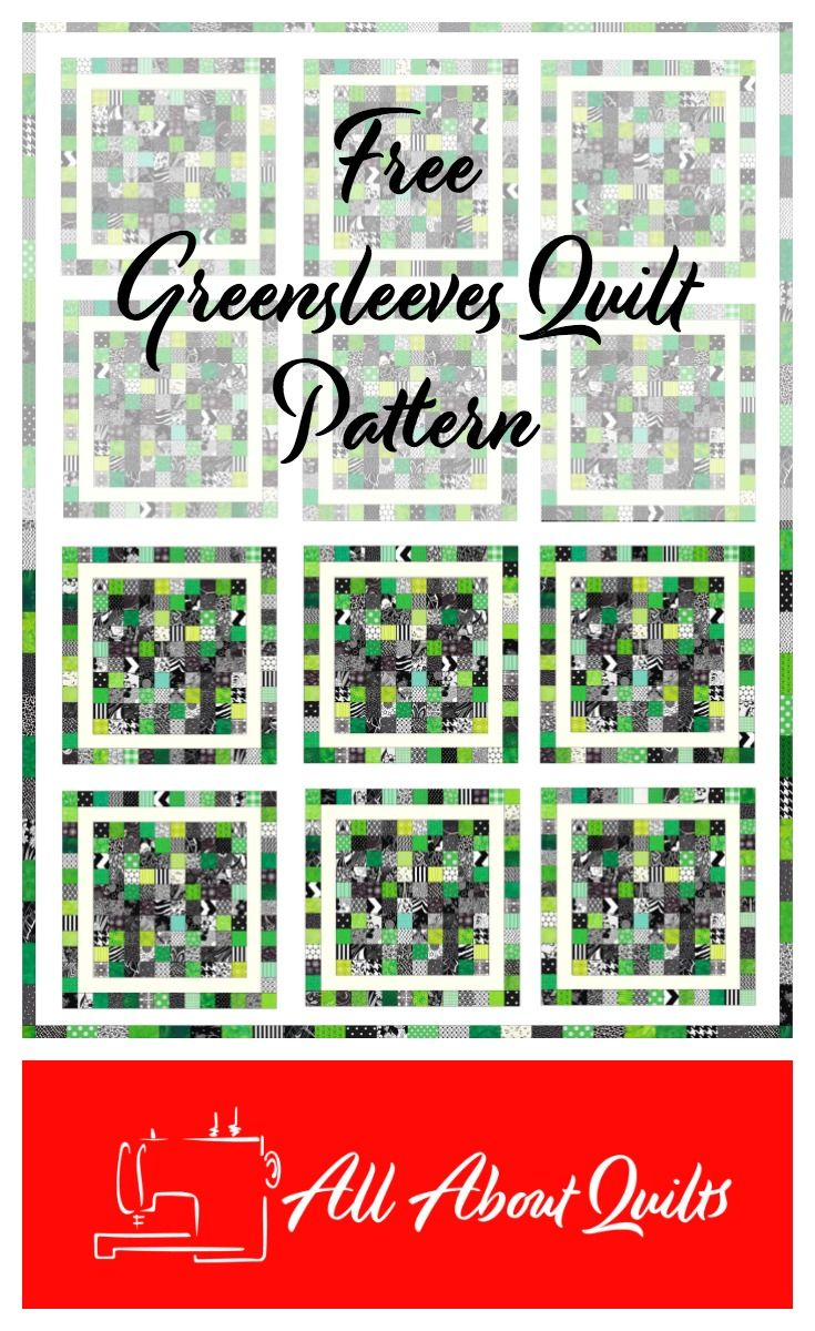 """This is the perfect quilt to use all your wee pieces of fabric. You will need quite a large number of 2"""" x 2"""" squares in your favourite colours. The quilt is made from 12 blocks each measuring 21"""" x 21""""."""