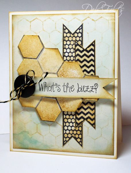 What's the buzz? by debdeb - Cards and Paper Crafts at Splitcoaststampers
