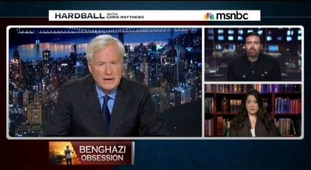 The Passionate Chris Matthews Rant on Benghazi That Will Probably Leave You Speechless Oct. 29, 2013