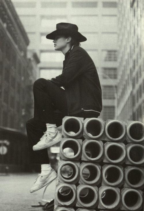 track top di cotone felpato e pantaloni neri, Y's for Men Yohji Yamamoto
