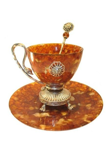 Coffee cups made of natural amber. Discussion on LiveInternet - Russian Service Online Diaries