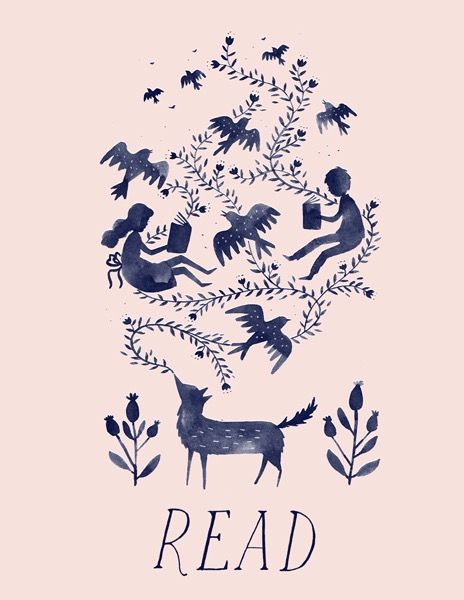Library Print | Julianna Swaney