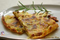 Schiacciata di patate al rosmarino /CUCINA CON SARA
