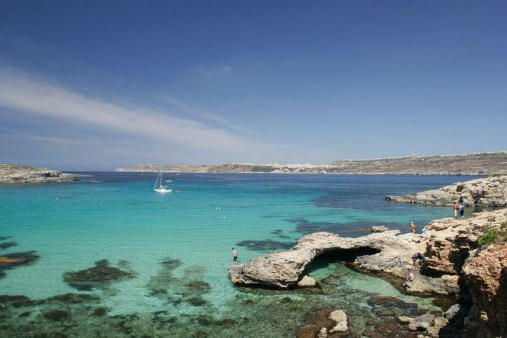 Comino, Malta: Cominos top attraction is its fantastically beautiful Blue Lagoon.