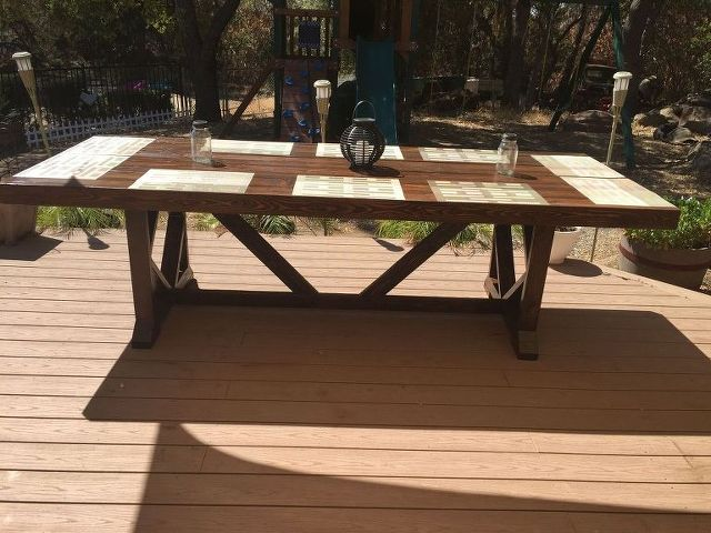 Top 25  best Large outdoor furniture ideas on Pinterest   Grey house  furniture  Grey basement furniture and Wicker patio furnitureTop 25  best Large outdoor furniture ideas on Pinterest   Grey  . Diy Outdoor Dining Table Ideas. Home Design Ideas