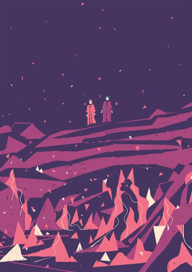 A Divina Comédia ilustrada (para crianças!) – Design Culture