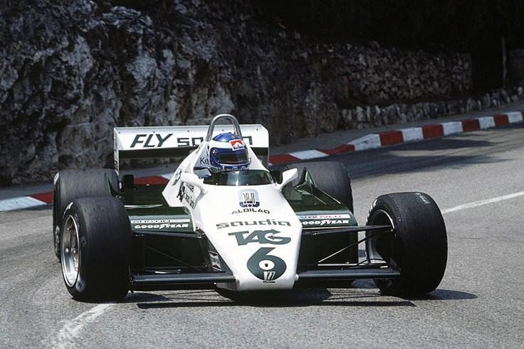 Keke Rosberg Williams - Ford , Monaco 1982