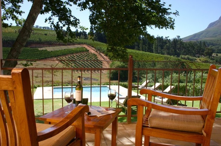 Investment on Wine Estate in South Africa