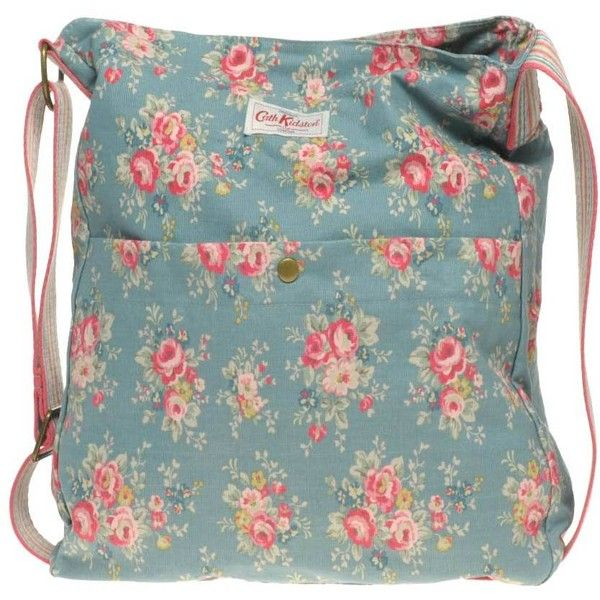 Cath Kidston Washed Messenger Bag ($66) ❤ liked on Polyvore featuring bags, messenger bags, accessories, bolsas, purses, accessories wbbags, womenswear, cath kidston, green messenger bag and logo messenger bag