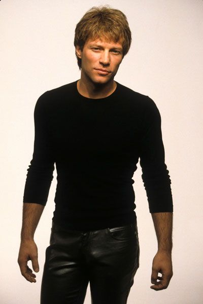 [Jon Bon Jovi - Rock Star]  ... Black n leather - that's all you have to say