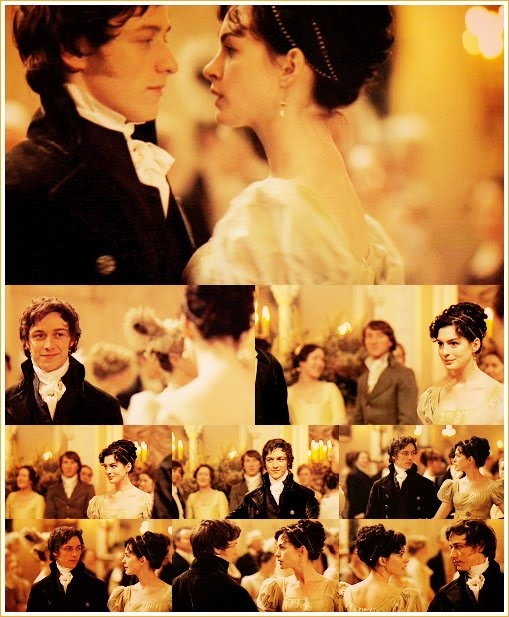 Becoming Jane- the dance scene....i can rewind this over and over and over