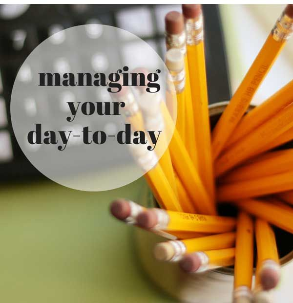 If you're overwhelmed and exhausted, you need to manage your day-to-day. Here's how to bring back focus and productivity, rest and renewal, and the hard stops you need to thrive.