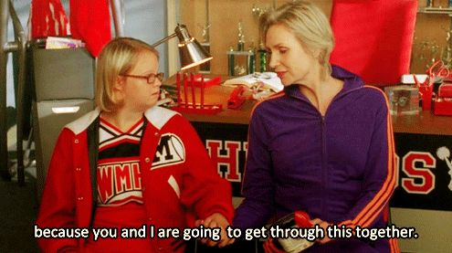 """Make sure the ones you love know you're there for them. 