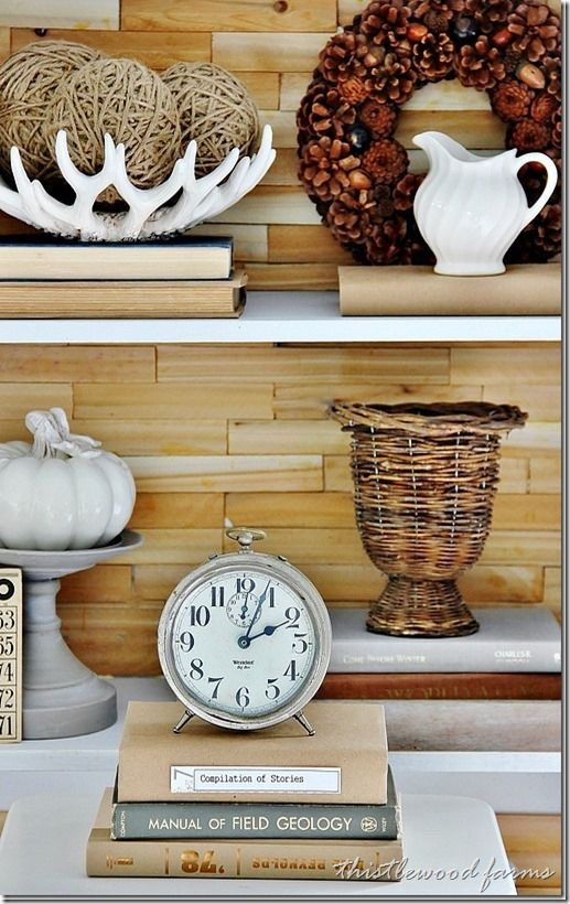 5 things every bookcase needs (thistlewood farm)