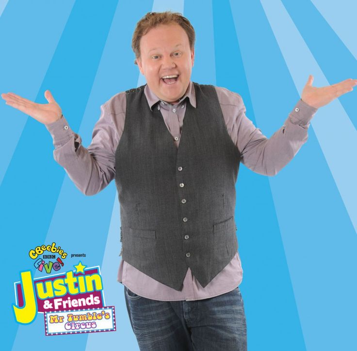 Q & A With Justin Fletcher From CBeebies about  CBEEBIES LIVE! Justin & Friends Mr Tumble's Circus from April 2015