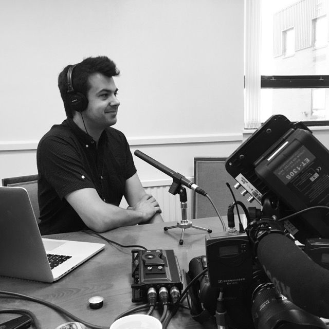 From Our Instagram Account – Looking forward to more podcast recording today…