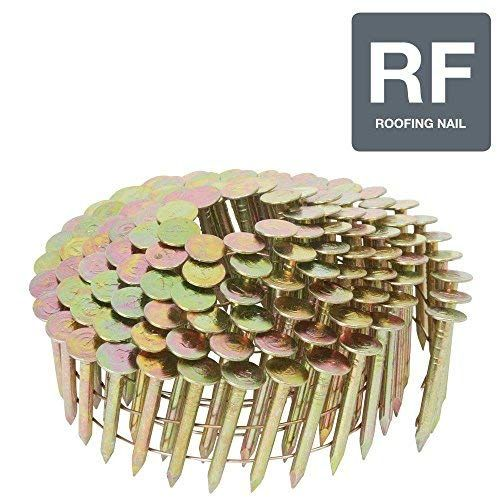 Airtoolsdepot 2 Coil 1 1 4 In X 0 120 Gauge Electrogalvanized Full Round Head Roofing Nails 240 Pack From Hitachi
