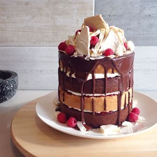 This pretty tower of cake. | 16 Desserts That Totally Reinvent The Lamington Katherine Sabbath Lamington Cake