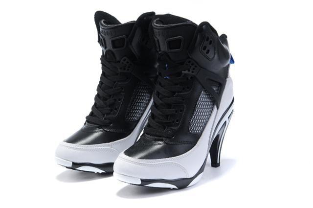http://www.womennikeshoes.com/womens-jordan-spizike-black-white-boots-p-475.html WOMENS JORDAN SPIZIKE BLACK WHITE BOOTS Only $90.06 , Free Shipping!