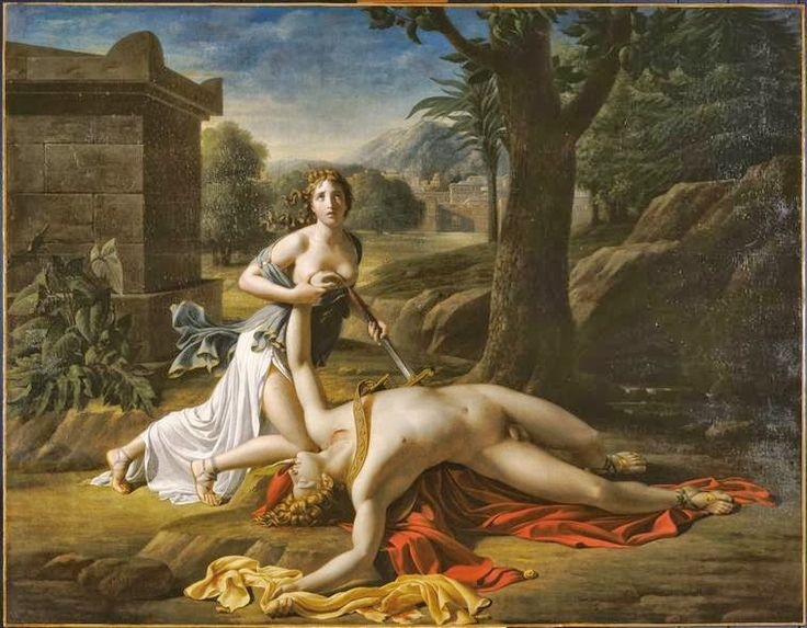 """Act l, scene ii~ They decide to perform Quince's version of the myth of Pyramus and Thisbe, """"The Most Lamentable Comedy and Most Cruel Death of Pyramus and Thisbe."""""""