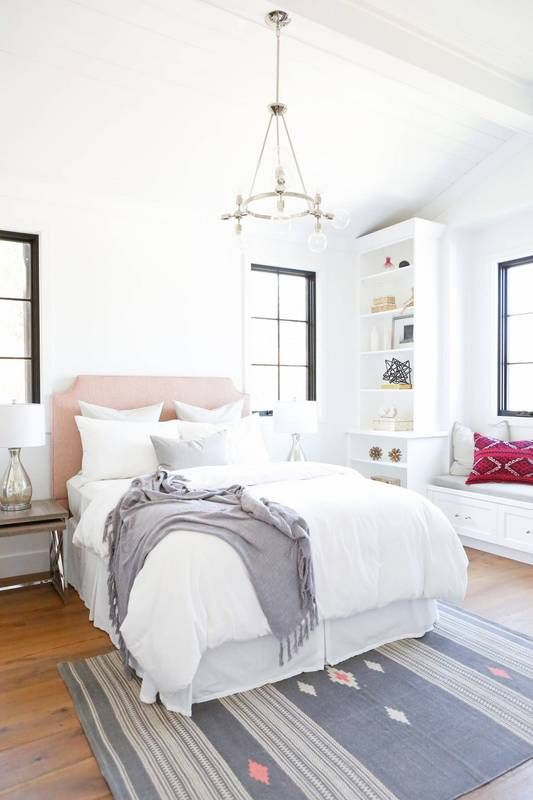 Soft Tones With A Pop Of Brightness Bedroom Inspiration