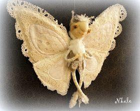 Потеплело, и снежок подтаял)  А сегодня родилась новая бабочка - Метелица)) Взмах крылышек - и на землю сыпется белоснежное кружево снежи...