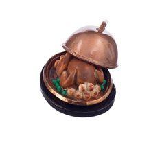 1:12 Dollhouse Miniature Lebensmittel Weihnachten Türkei W/Deckel(China (Mainland))