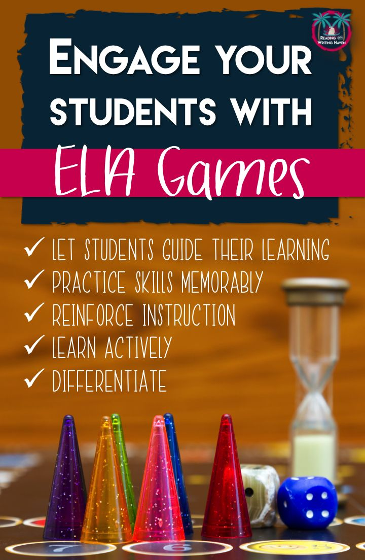 Get students excited about learning with these educational games for the ELA classroom. Using their notes (or not) students can review the information you have taught them for a class assessment or standardized test. High school English can be fun and rigorous at the same time!