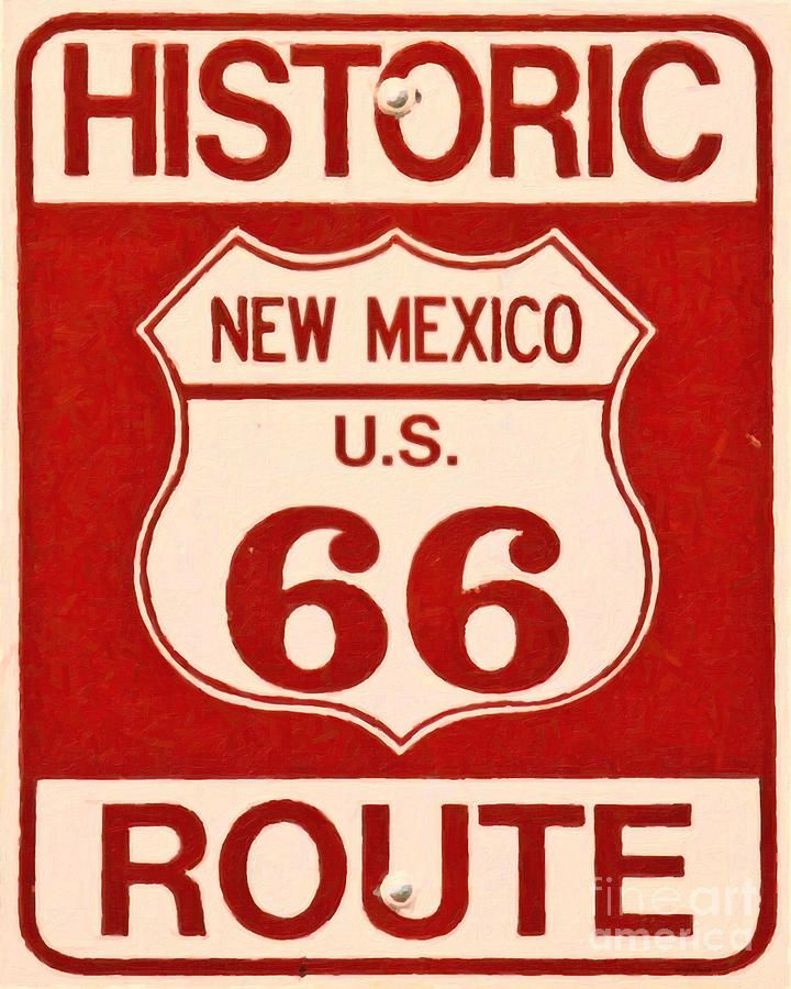 Route 66, NM...we traveled this route in the early 1970's. Things are a lot different now, but the old route 66 through old Flagstaff, AZ is full of fun shops and sights to see all along the way.