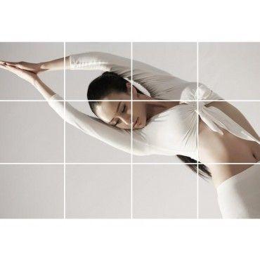 Sticker Mirror Tiles Self Adhesive 15x15 40PCS