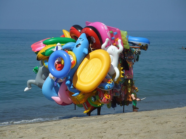 this is what I look like when I go to the beach LOL