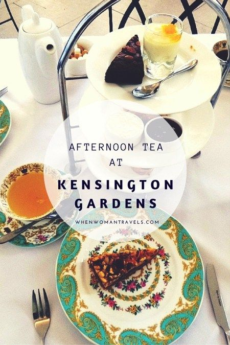 Kensington Palace and its gardens - one of the places for afternoon tea in London.