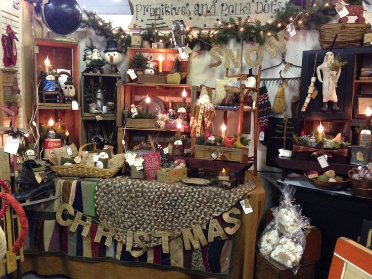 My Booth At The Farmhouse Show In Turner Oregon