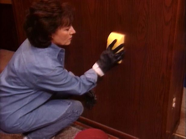 28 Best Images About Paint Over Paneling On Pinterest